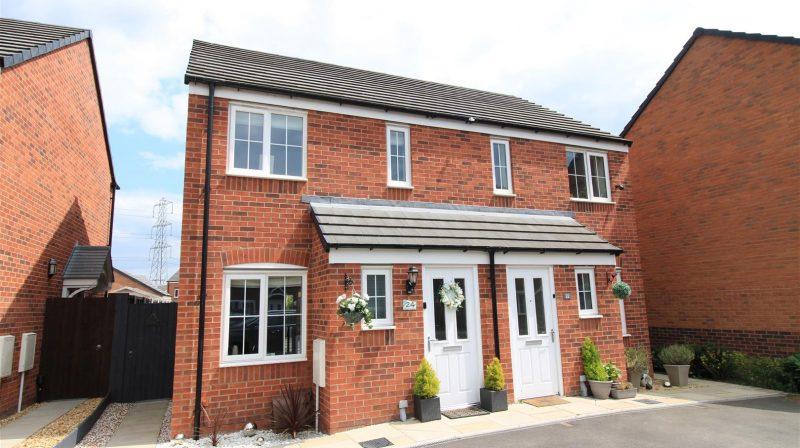 24 Broadhead Drive, Shrewsbury, SY1 4FB For Sale