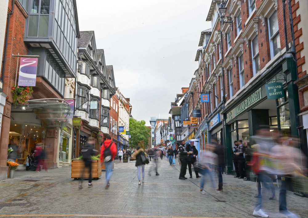 Shrewsbury highstreet