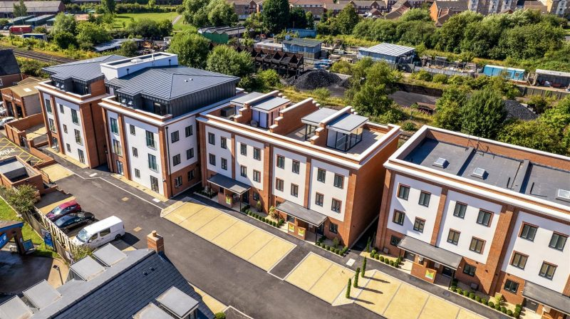 The Penthouse Albury Place, Shrewsbury, SY1 2EY For Sale